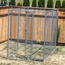 Cheap steel galvanized dog cage/black pet kennel/hot sale dog run fence