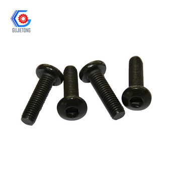 hex socket flat head tapered threaded bolt