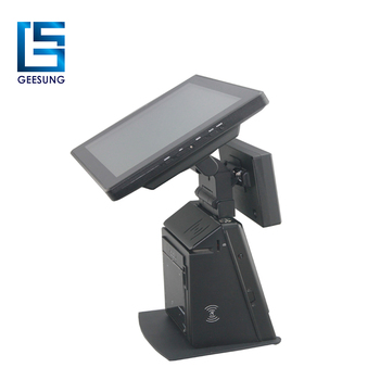 AIO-9709 android pos system with 80mm thermal printer for sale