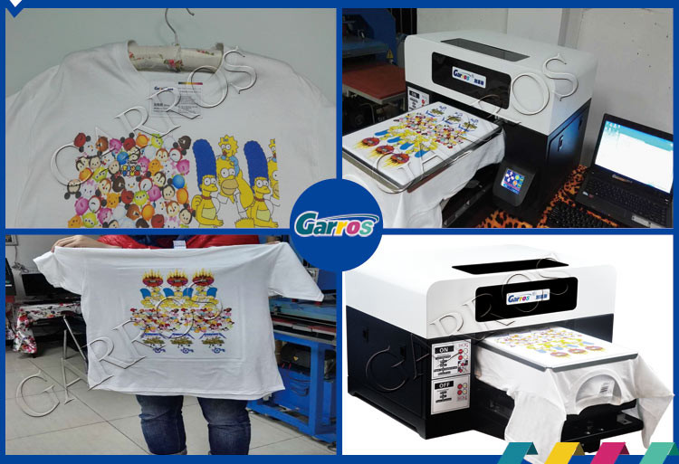 Машина для печати на футболках