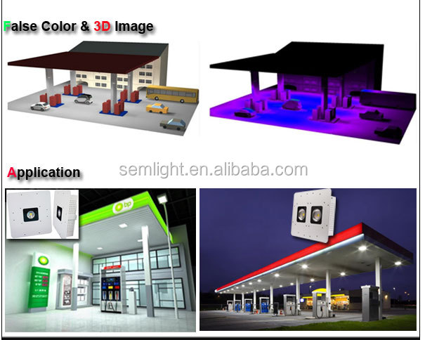 Retrofit LED Canopy Light for Gas Station,Petrol Station LED Light 90w 120w 150w