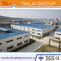 Steel Structural Warehouse Roofing Materials