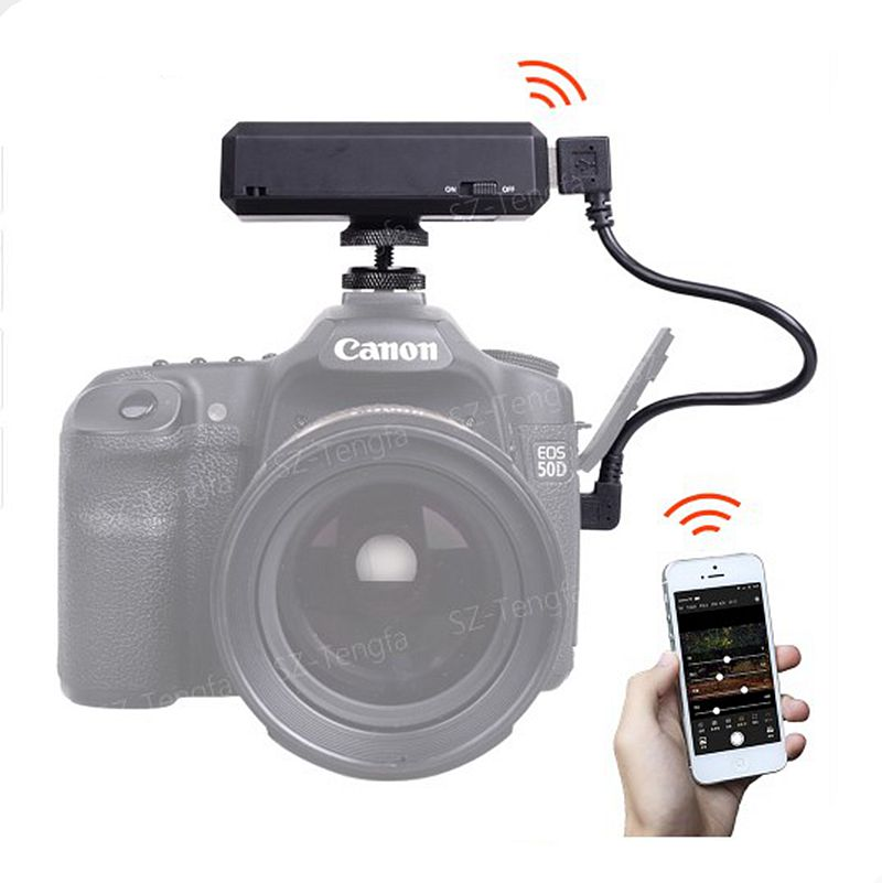 CAMFI CF102 <strong>Remote</strong> <strong>Controller</strong> Capture Transmit Camera Photo Wireless WIFI Transmission System
