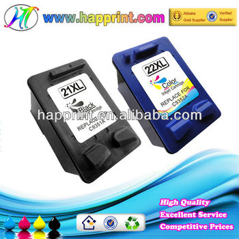 Printers Compatible Ink cartridge for Hp 21 22 C9351A C9352A Refill Ink Cartridge for Hp 21XL 22XL Printer Ink Cartridge