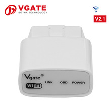 Original best obd2 scanner elm327 icar1 wifi for uk from Vgate company limited support Android PC IOS