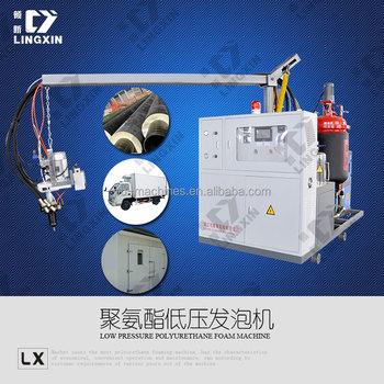 PU foam insulation filling pouring Machine /Polyurethane pouring machine