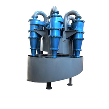 Ore dressing water cyclone separator