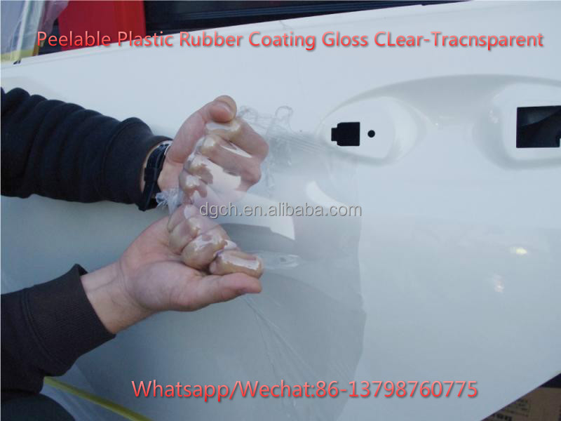 Magic Dip , Peelable Plastic Rubber Dip Coating, Gloss Clear Transparent Rubber Coating