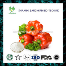 China manufacturer Organic Capsaicin Extract Powder for sale