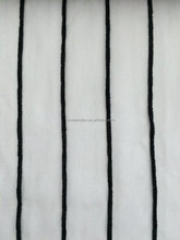 Decorative Linen Stripe Sheer Curtain for Hotel Project