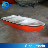 fiberglass rowing boat 3.0 m 9.8 ft 4 person