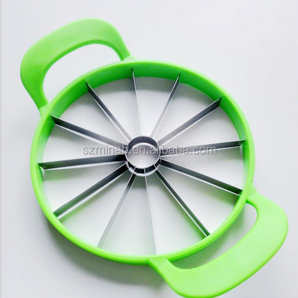 Creative Kitchen Accessories Stainless Steel Fruit&Vegetable Tools Cutter Corer Melon Cantaloupe Divider Slicer