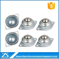 low noise ball transfer unit universal roller ball bearing