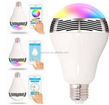 Intelligent Home Furnishing LED intelligent lighting mobile phone WIFI wireless control network E27 remote control bulb lights