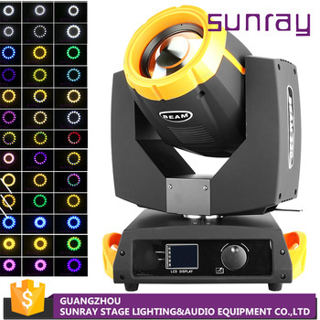 Factory Price Stage Equipment Lamp 16 Channel Dmx512 Control 7A Fuse 7R 230W Beam Moving Head Light