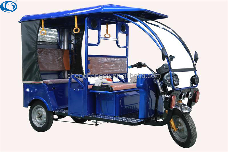 Indian rickshaw three wheel electric motorcycles