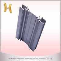 powder coating electrophoresis triangle aluminum profile