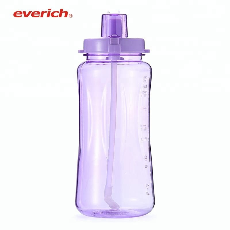 Wholesale Tritan Plastic Water Bottle Big Size 1000ml 1500ml 2L