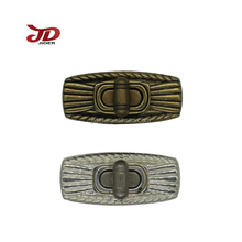 Hot sell high quality bag hardware lock and lock buckle