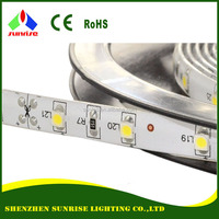 Silicon/epoxy/PU coating with original 3M tape SMD 3528 LED flexible strip