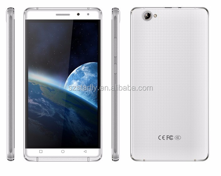 OEM factory price smartphone big 6 inch smartphone With Metal Frame 2.5d arc glass screen smart wake 3g wcdma android phone s3