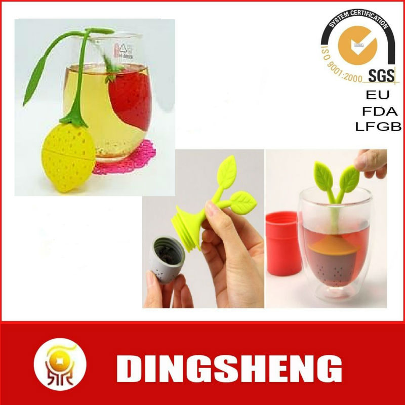 Wholesale silicone tea bag infuser for promotion gift