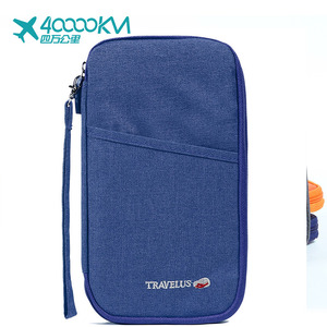 Fashion travel wallet/passport holder/travel organizer bag