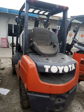 Japan original TOYOTA used forlifts 3 ton for sale