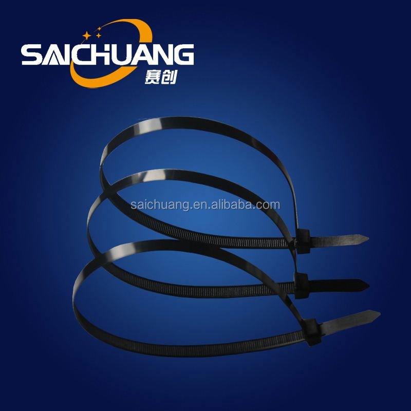 Electrical custom logo nylon cable tie heavy duty zip tie all colors