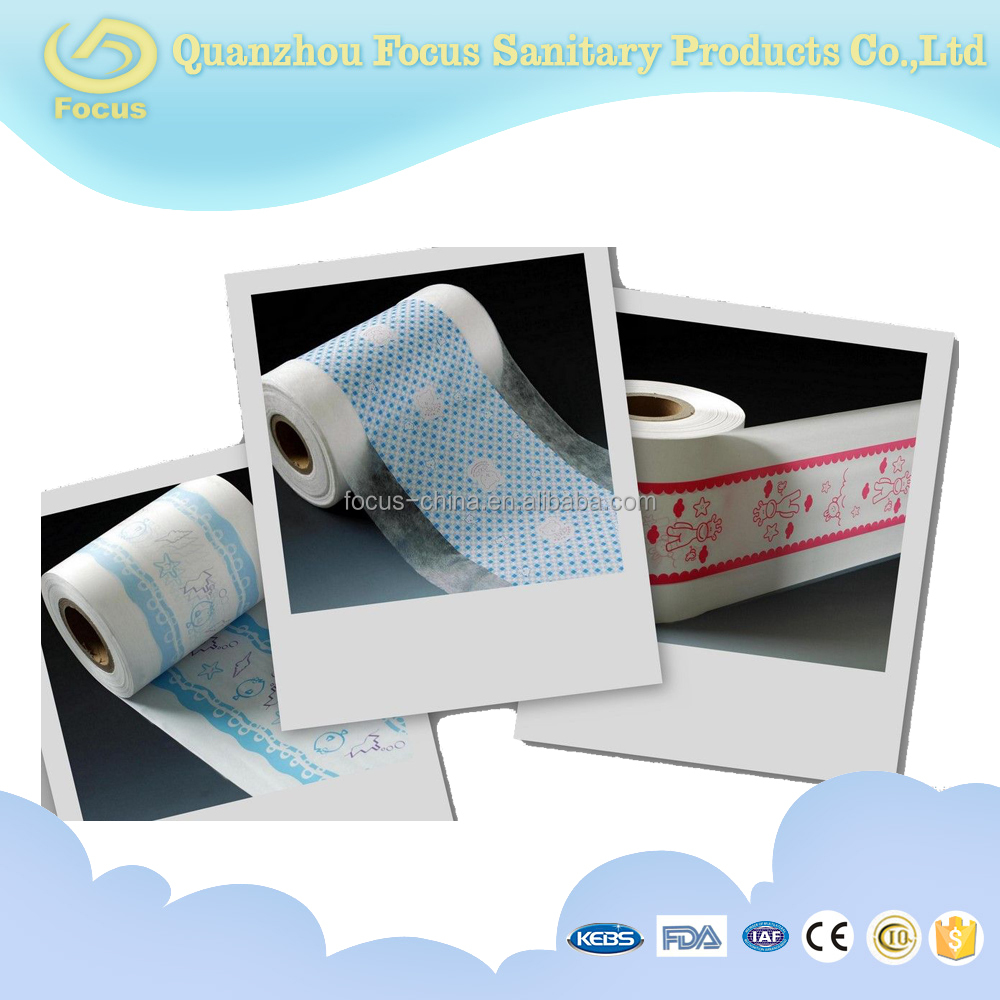 Dipaer Raw material clothlike film, breathable cotton film for diaper/baby diaper/adult diaper
