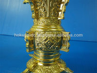 Custom-made Precision Brass Die Casting Buddhist altar fittings / Flower vases by japanese companies