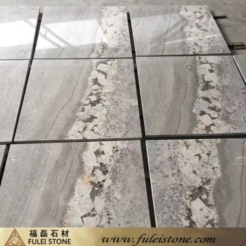 Good Sale Polished Natural Viscount White Granite Tiles