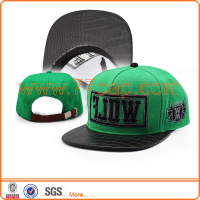 High Quality Custom Flat Bill 3D Embroidery Snapback Hat wholesale