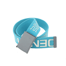 Factory Supply Canvas Belt Sport Leisure Polyester Belt For Boys