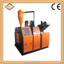 CE Automatic small copper cable granulator scrap copper wire separator machine hot selling in EU and France