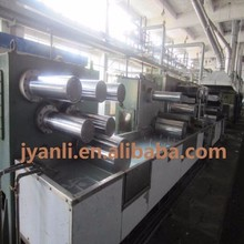 RECYCLED PET STAPLE FIBER YARN EXTRUDER MACHINE, HOLLOW CONJUGATED POLYESTER STAPLE FIBER YARN PRODUCTION LINE