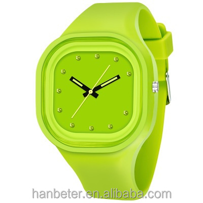 Fashion jelly wrist watch, fashion silicone couple watch