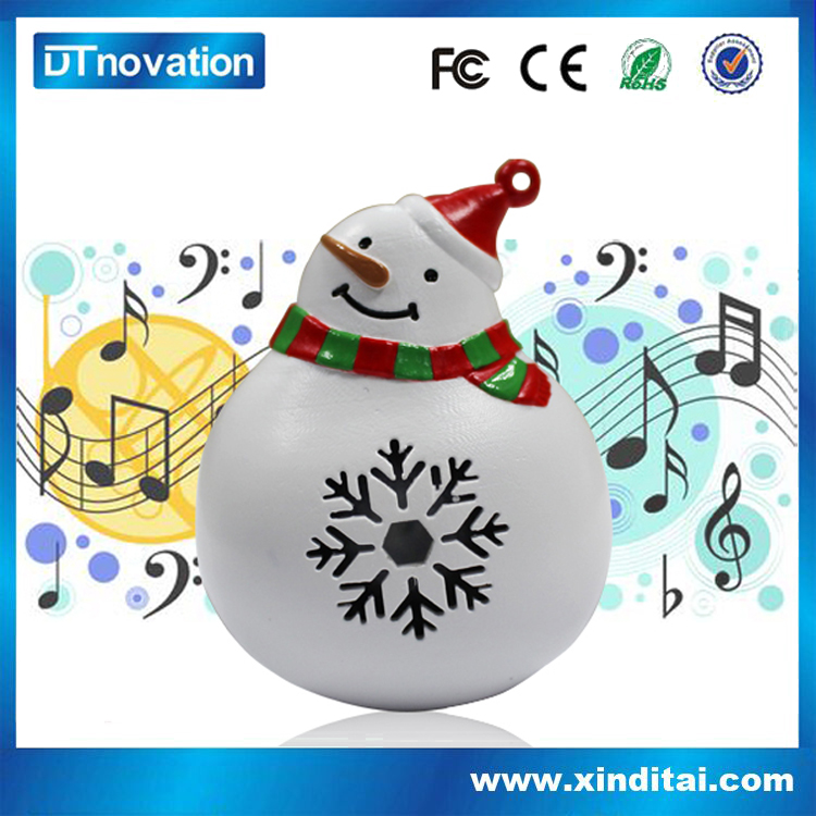 2017 best popular sing snowman for christmas Decorative