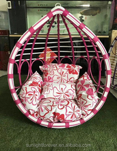 Hot selling Outdoor hanging egg chair leisure Swing Chair/Hammocks Mode ORW-1001A