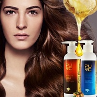 Give hair softening daily care argan oil hair shampoo conditioner make frizz hair repair smoothing and shine