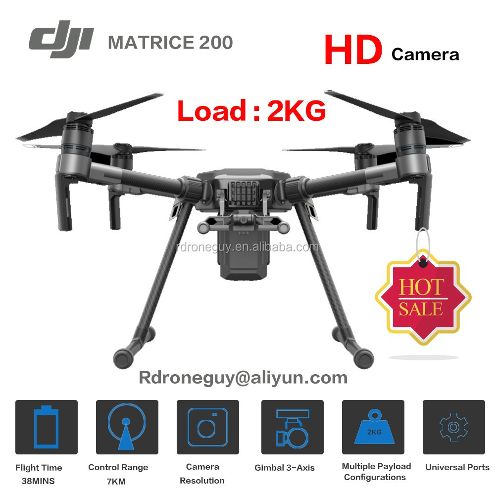 Original dji drone matrice 200 industry with Zenmuse XT HD thermal camera