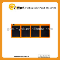 40 watts sunpower foldable solar panel with A grade high efficiency cell for RV