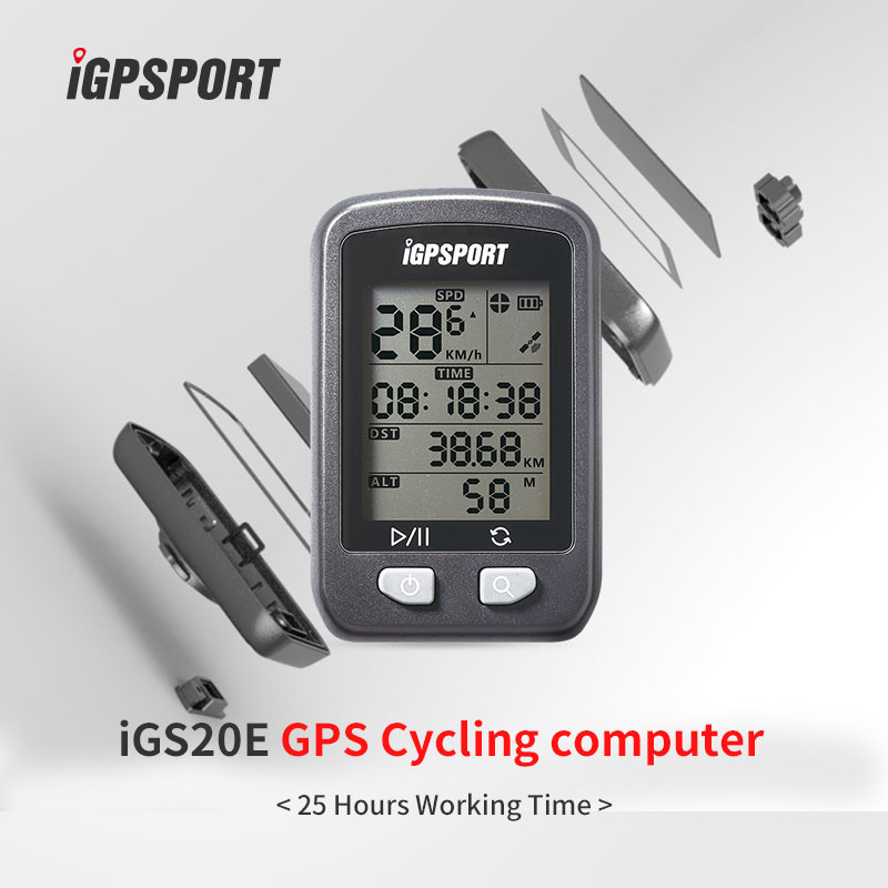 Best selling OEM quality iGS20E from iGPSPORT bike computer exercise bike monitor