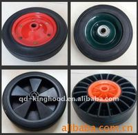 Quality factory Solid rubber wheel