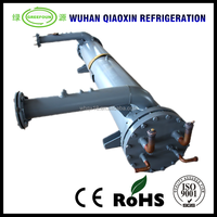 Water cooled evaporator