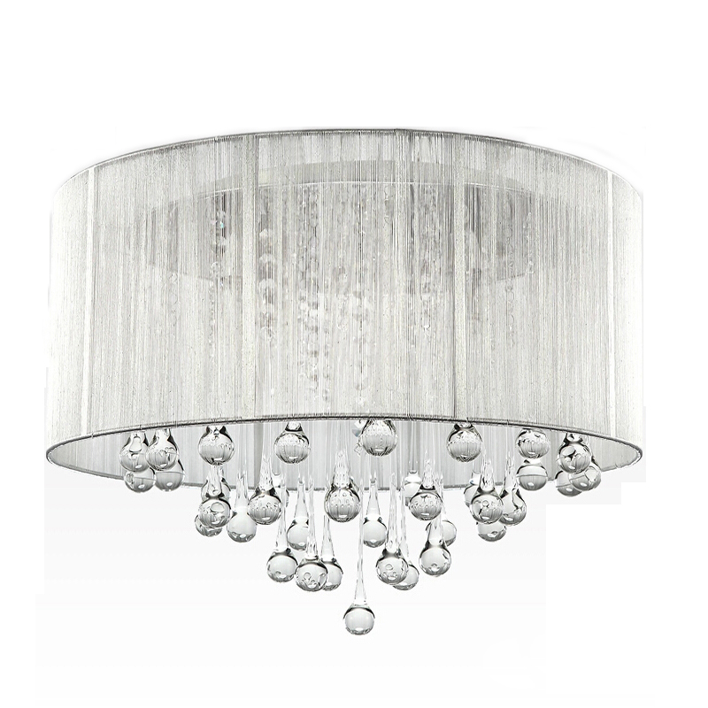 Shipping in 24 Hours Freeshipping Crystal Ceiling Chandelier and Pendant <strong>Light</strong> (Silver)