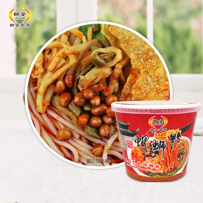 Delicious Liu Zhou River Snail Instant Rice Noodle 12 Cup Package