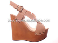 Wedge shoes beautiful high heel sandals ladies sandals good quality