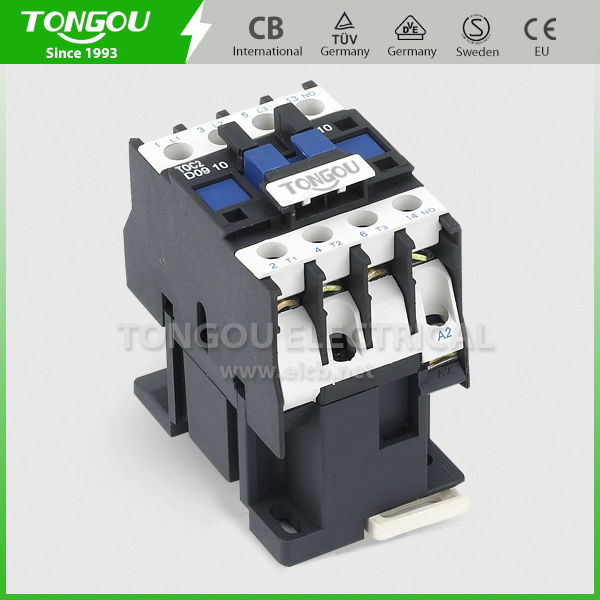 LC1 -D 9A to 85A 12V 48V 110V 220V 380V coil ac contactor with good quality