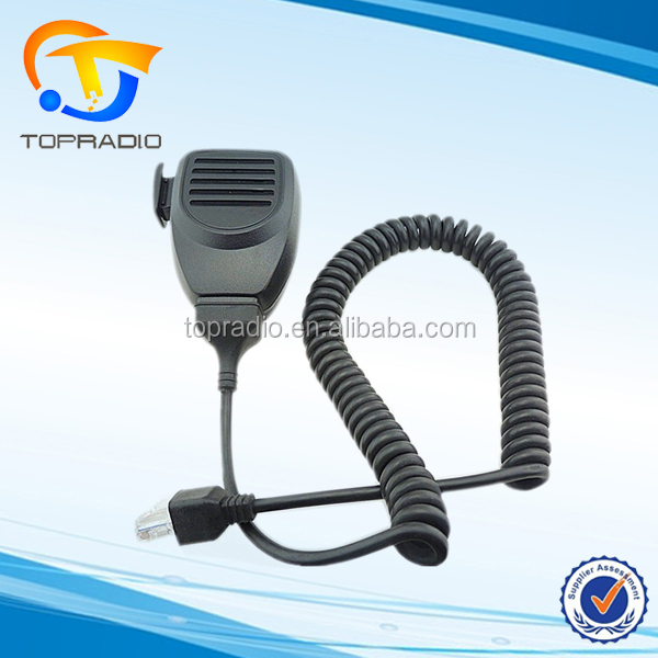 TOPRADIO KMC-30 Speaker Microphone Earpiece for Kenwood Mobile Radio Transceiver TK-7189 TK-760 TK-760G TK-762 TK-762G